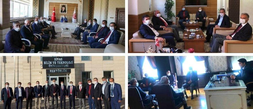 Zasiad Yüksekokullar Hakkında Toplantı ve Ziyaretler